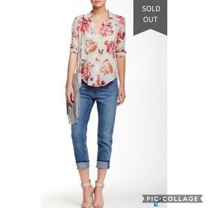 Mother The Drop Out Cropped Jeans